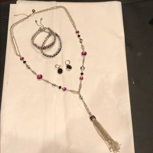 White House Black Market 4 PC jewelry set